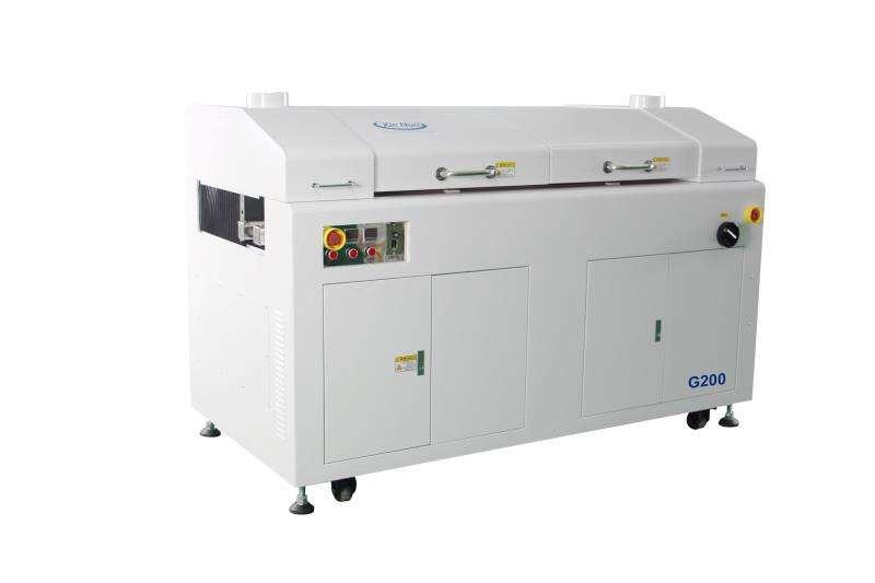 Selective coating machine
