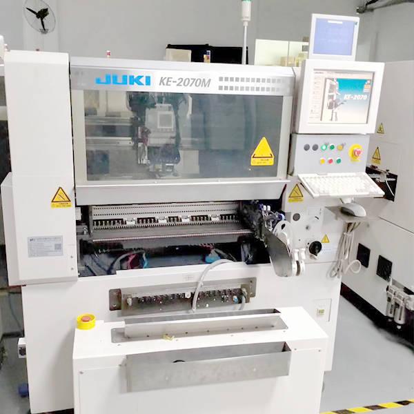 juki 2070m chip mounted machine