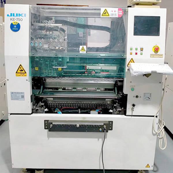 juki ke750 chip mounted machine