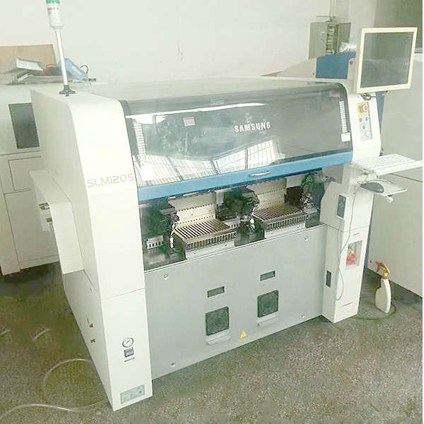 samsung slm120 used pick and place machine