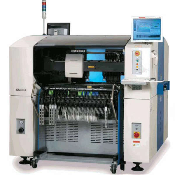 samsung sm310 used pick and place machine
