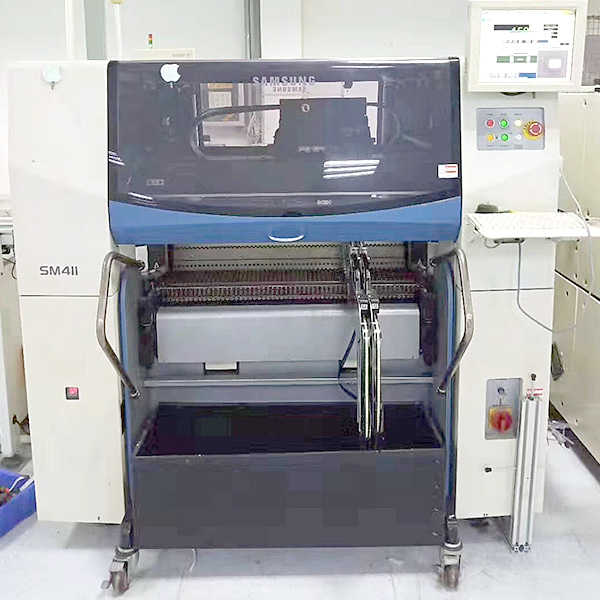 samsung sm411 used pick and place machine1