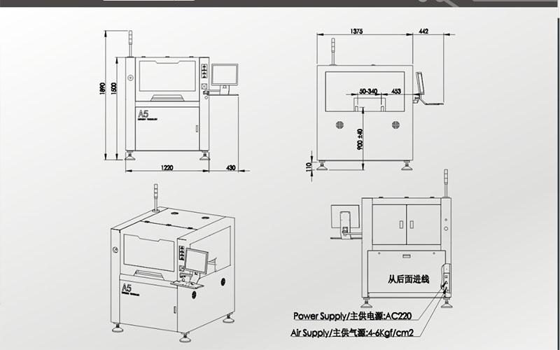 CNSMT-A5 Solder paste Printer